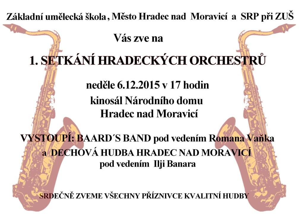 1. setkání dechových orchestrů 2015