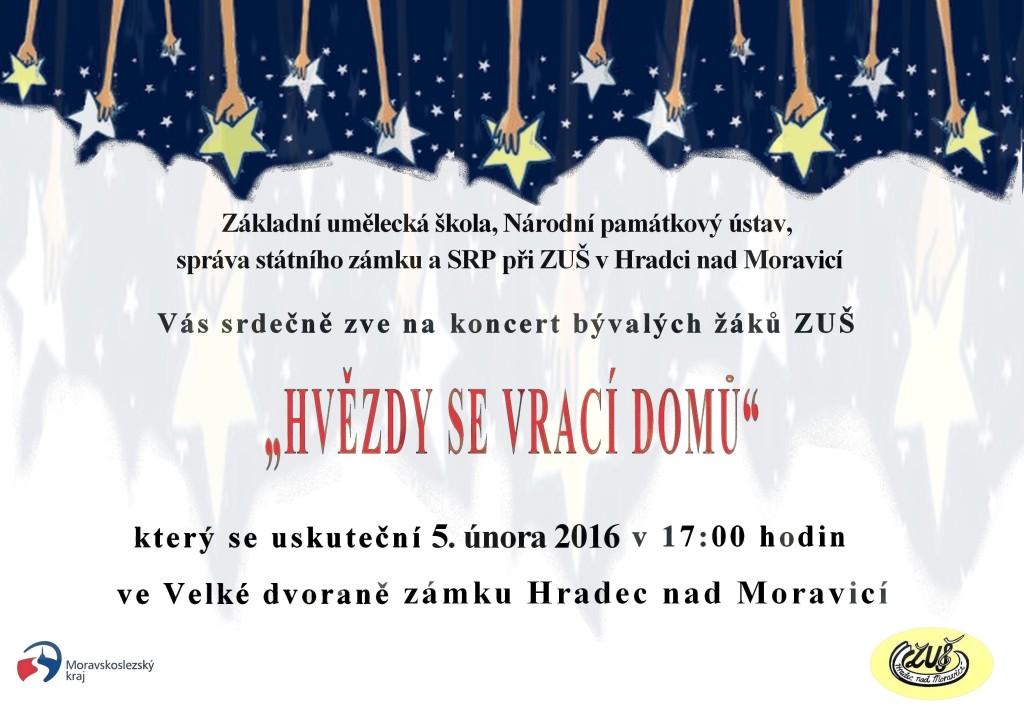 Hvězdy se vrací domů 2016