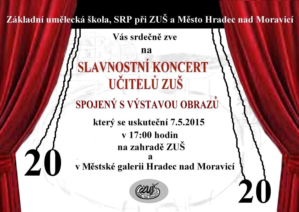 Slavnostní koncert učitelů ZUŠ