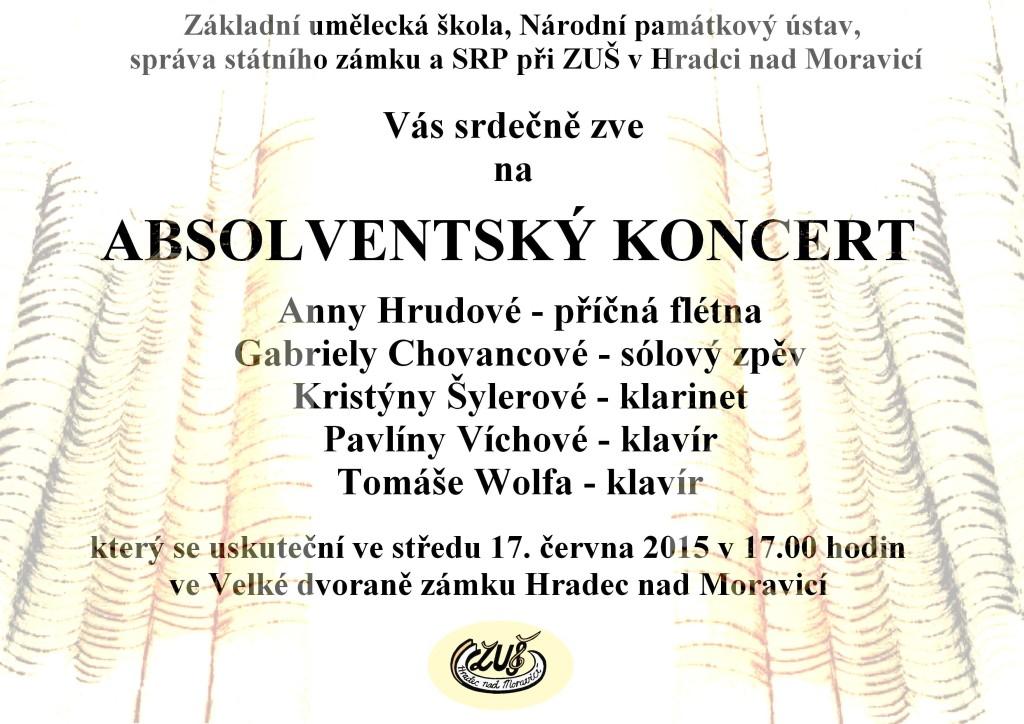 pozvanka nba absolventsky koncert 17.6.2015