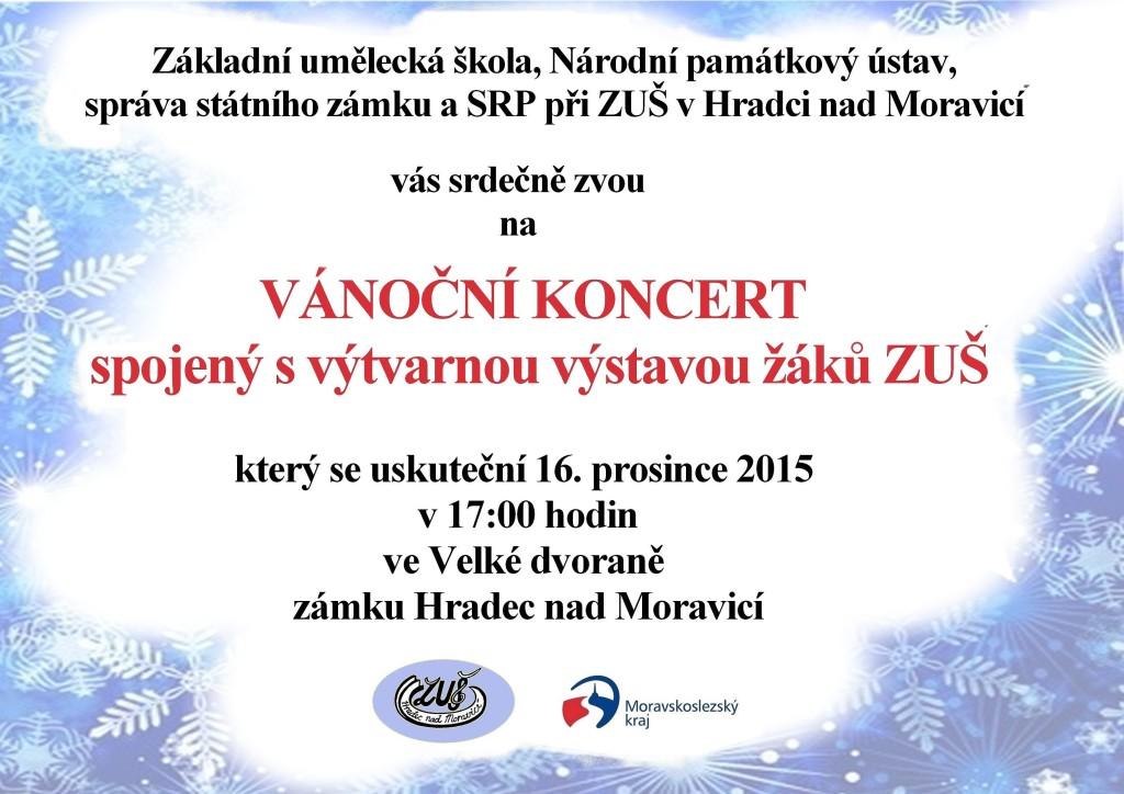 vánoční koncert 2015